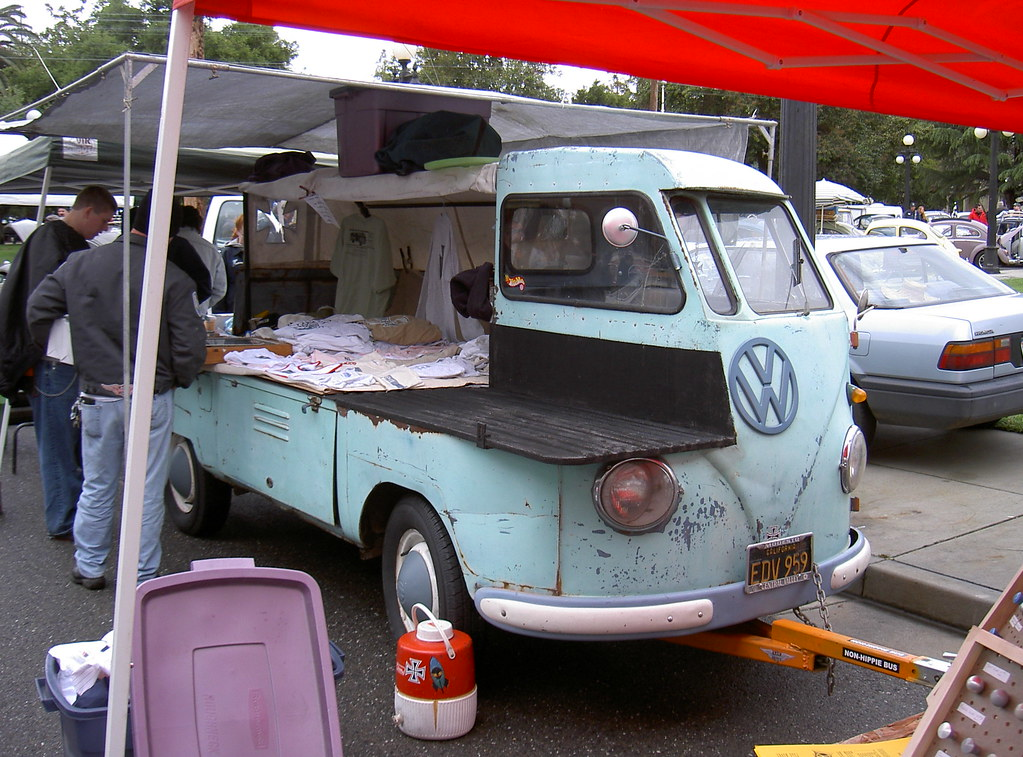 Electric Pickup Truck >> VW plumber's truck | This was a very interesting adaptation … | Flickr