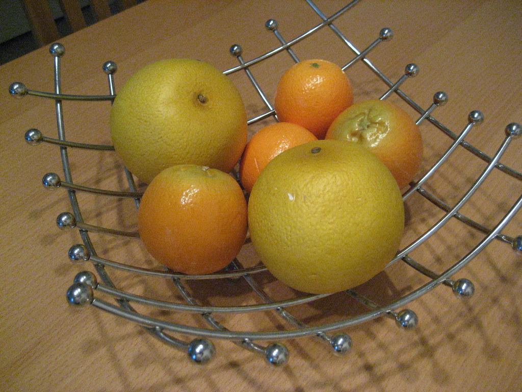 bowl of fruit fake fruit
