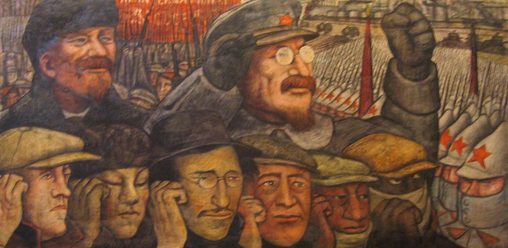 Diego rivera tercera internacional la revoluci n rusa for Mural de rivera
