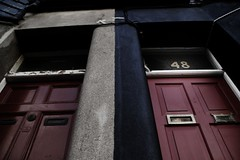 The red door at No. 48 | by Donncha Ó Caoimh