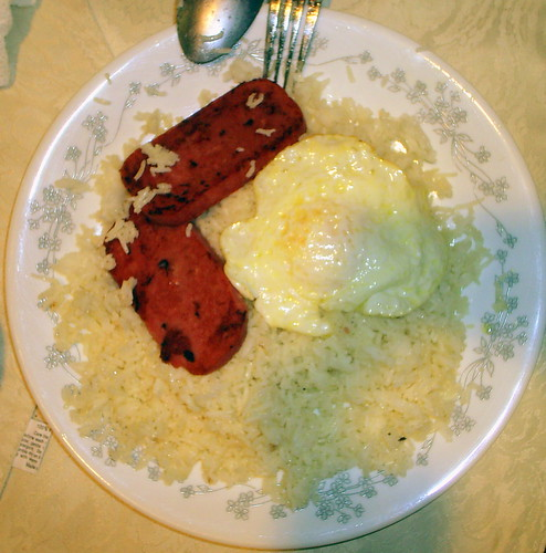 Egg On Rice Cake