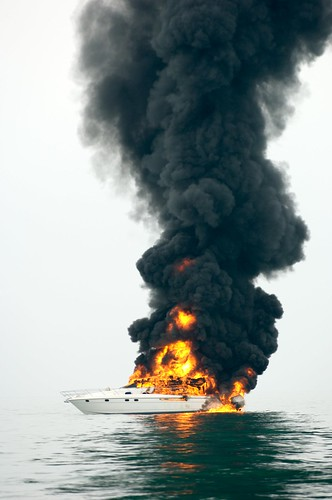 Shoreham boat fire | by motorboatsmonthly