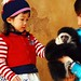 Everland gibbon & cute girl