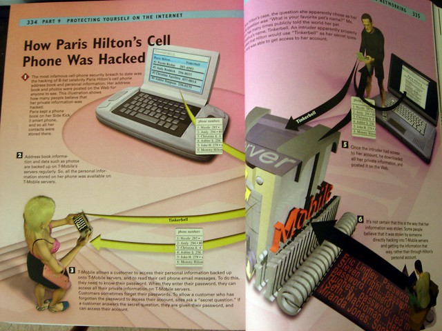 how paris hilton 39 s cell phone was haxx0red kevin lim flickr. Black Bedroom Furniture Sets. Home Design Ideas