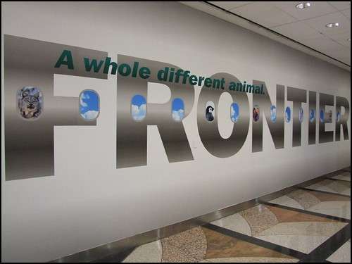 Frontier Ad at DIA | by Jeffrey Beall