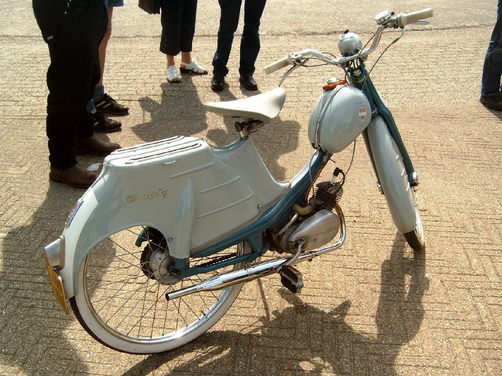 fifties moped nsu quickly l fifties light moped from. Black Bedroom Furniture Sets. Home Design Ideas