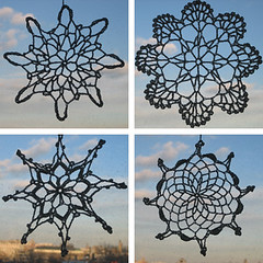 snowflake ornaments | by boodely