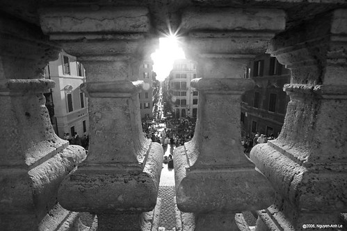Rome: Spanish Steps - BW | by discopalace