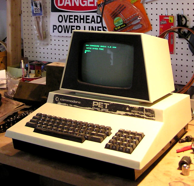 Commodore PET 4032 | My Commodore PET. Model 4032 - 32K of R… | Flickr