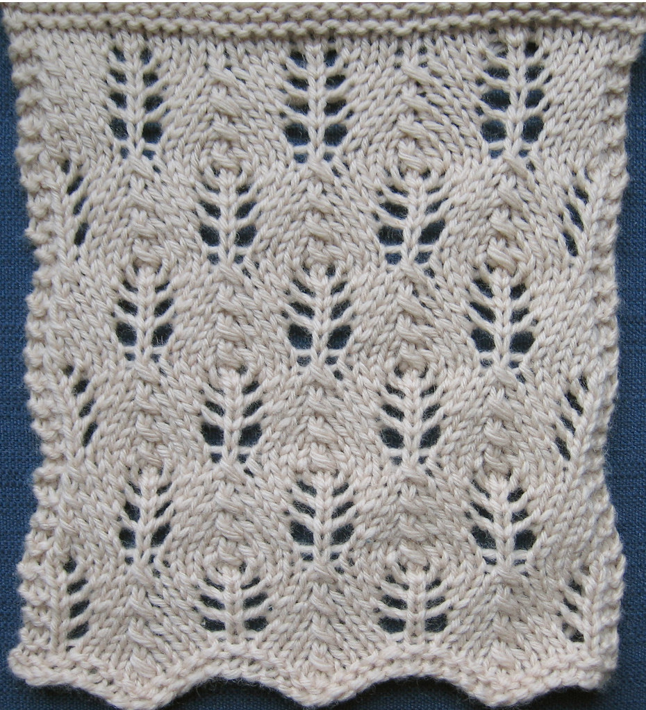 Fir Cone Fir Cone, A Treasury of Knitting Patterns by Barb? Flickr