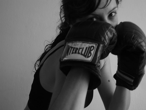 Boxing Girl 4 | by ganessas