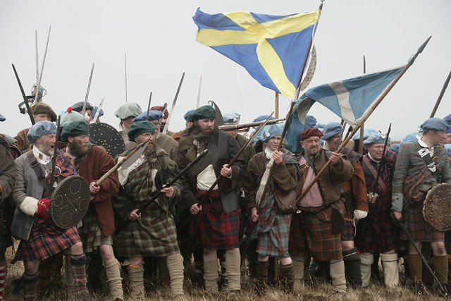 culloden battlefield reenactment of culloden 1746