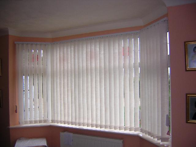 Vertical Blinds Bay Window Mercury Blinds Colchester