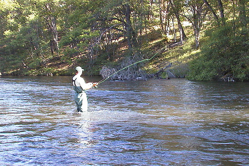 Jack fishing hat creek greg miller flickr for Hat creek fishing