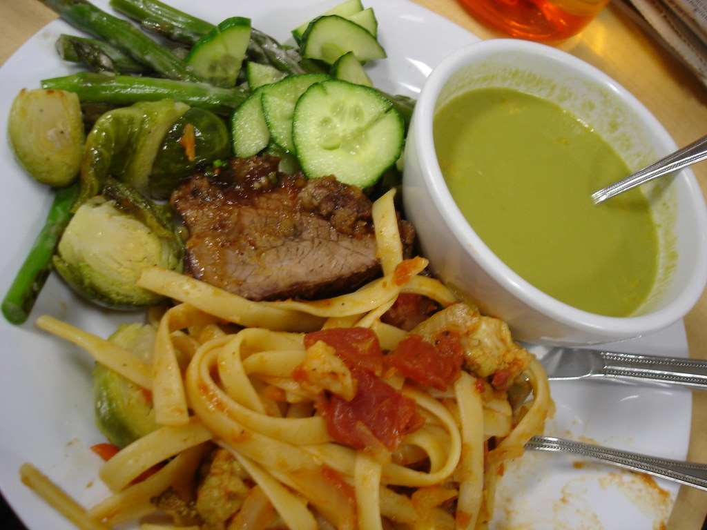 Google food 4 16 07 1 cafe 7 dinner asparagus soup for Google cuisine