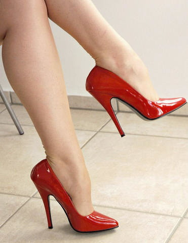 Super Red Heels | My red High Heels. | shielaannkeller | Flickr