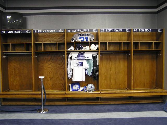 Cowboys Locker Room Colts
