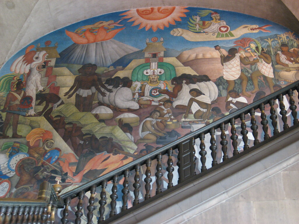 diego rivera mural mexico city diego rivera mural in pala flickr