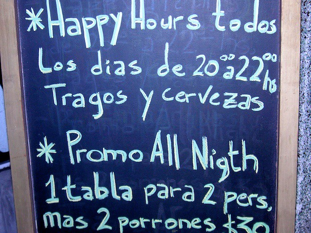 Essay My Family English Happy Hour Is Spanglish  A Bar Mispells Night On Their Promotional  Board Happy Hour Is Thesis Statement For Comparison Essay also Sample Essay Proposal Spanglish  A Bar Mispells Night On Their Promotional Boar  Flickr Essay On Importance Of English Language
