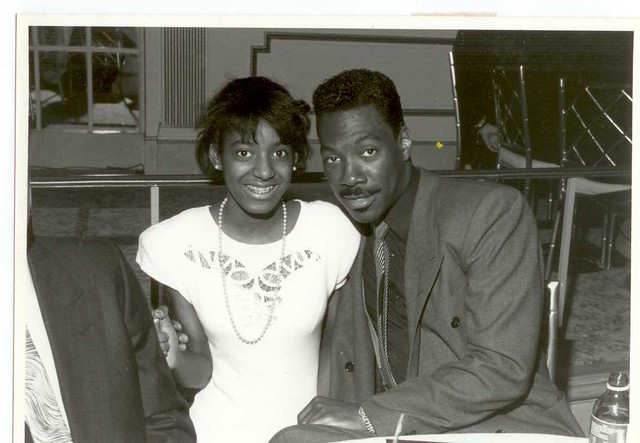 Eddie Murphy in 1988 with me | Me and Eddie Murphy in 1988 ...