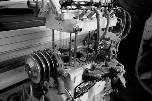Rolls Royce White >> Rolls Royce B40 petrol | Showing the side exhaust valves in … | Flickr