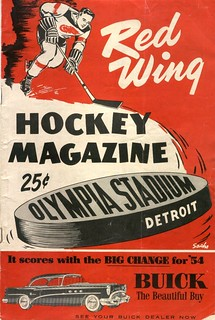 1954 Detroit Red Wings program | by 1CDNGUY