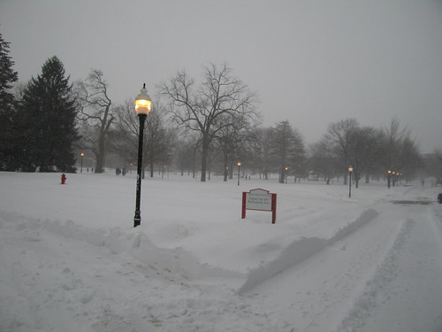 Snow Day at Illinois State University #1 | I braved the stor ...