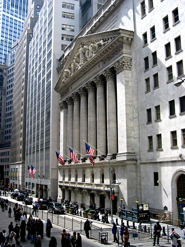 New York Stock Exchange | by kosmolaut