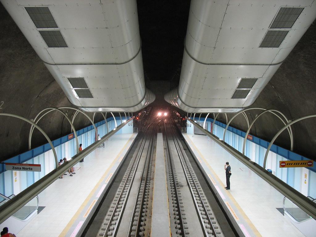 Metrô Rio - Estação Cantagalo