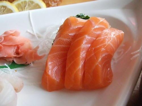 Salmon Sashimi | by egseah