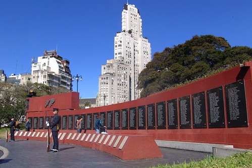 Malvinas War memorial in Buenos Aires | by CharlesFred