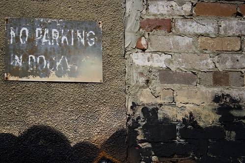 No parking in dockway | by caughtinorbit