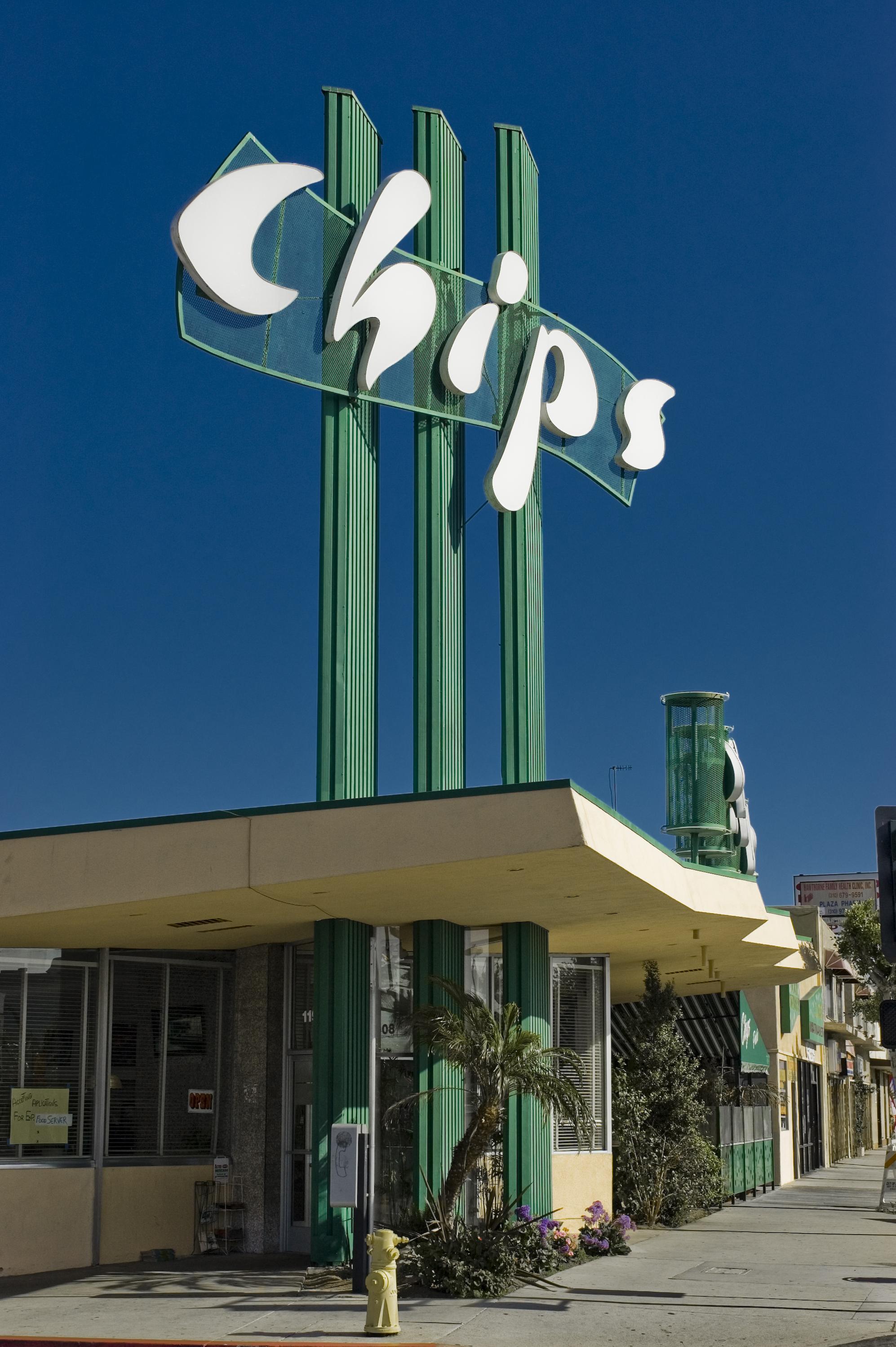 Chips Restaurant - 11908 Hawthorne Boulevard, Hawthorne, California U.S.A. - April 21, 2007