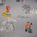 Vinatge Cotton Print Fabric