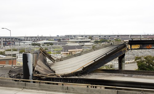 Freeway Collapse on Highway 580 Eastbound | by Thomas Hawk