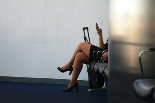 Anonymous Flight Attendant | by laszlo-photo