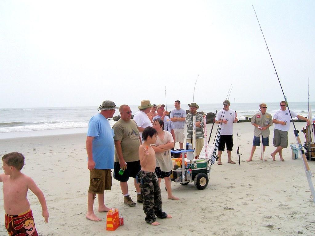 Folly beach surf fishing meet and greatt may 2007 106 flickr for Folly beach fishing