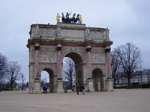 Arch of Triumph of Carrousel | by nycbadger