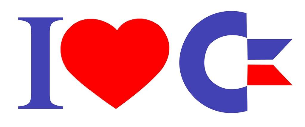 I Love Commodore - Sticker - 1980's
