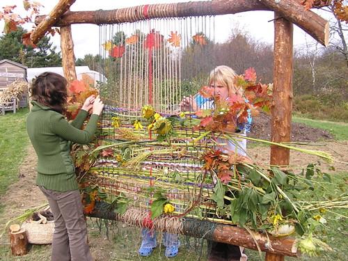 Garden Loom The School Garden Project Flickr