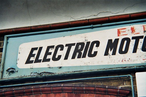 Electric Motor Rewinding Always Loved This Old Sign On A