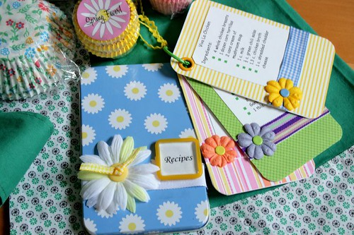 Embellished recipe cards | by The Felt Mouse