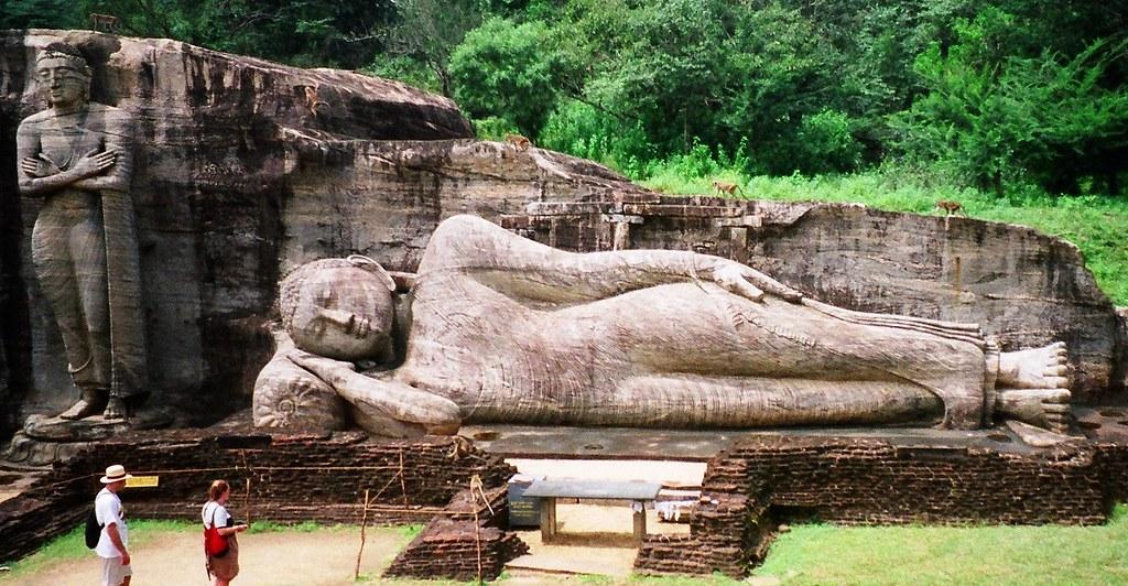 Gal Vihara Rock Sculptures - Polonnaruwa, Sri Lanka | Flickr