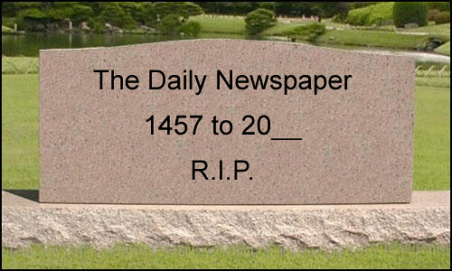 RIP Newspapers | by b_d_solis