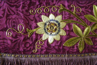 Passion Flower Embroidery | by Auntie P
