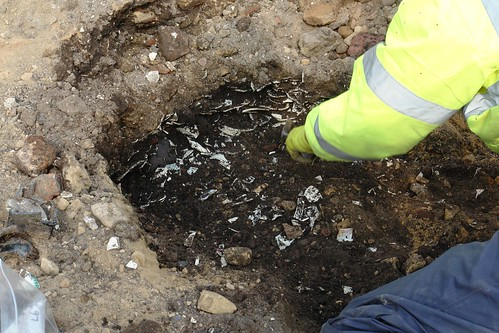 Excavating 18th century pottery | by National Museums Liverpool