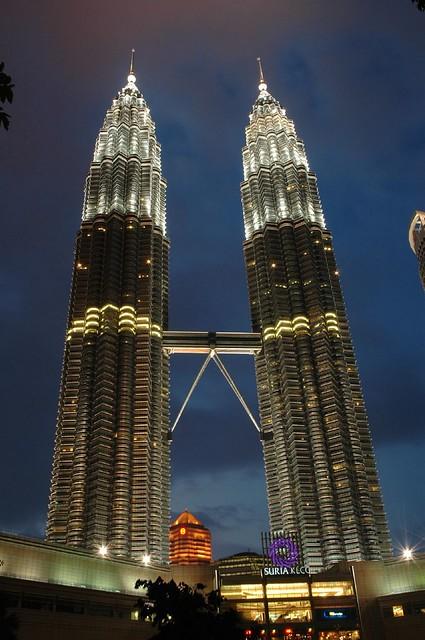 Petronas Twin Towers Klcc The 88 Storey Petronas Twin
