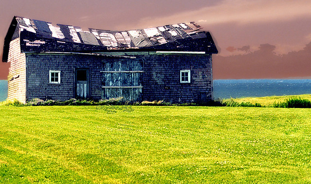 the old house by the sea i took this photo in pei in a. Black Bedroom Furniture Sets. Home Design Ideas
