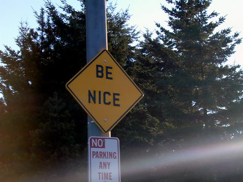 be nice | by mrsexsmith