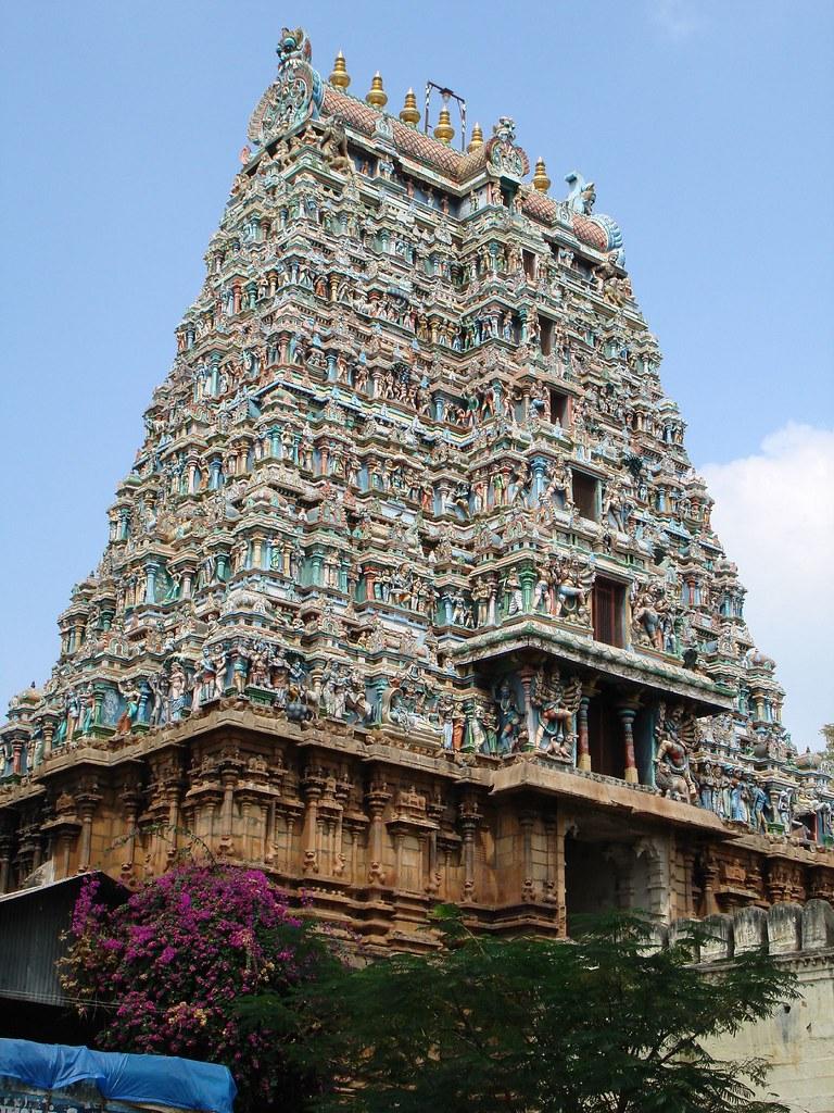 Kovil Gopuram Gopuram of Azhagar Kovil